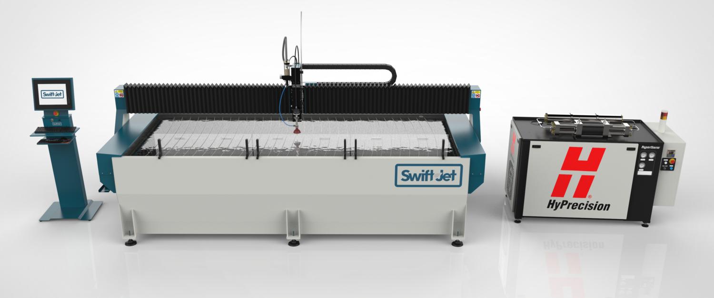 SWIFT-JET – die kraftvolle Wasserstrahl-Schneidanlage