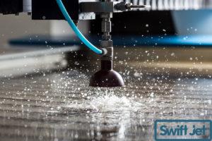Wasserstrahl-Schneidanlage